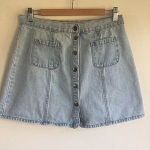 Urban Outfitters BDG jean skirt